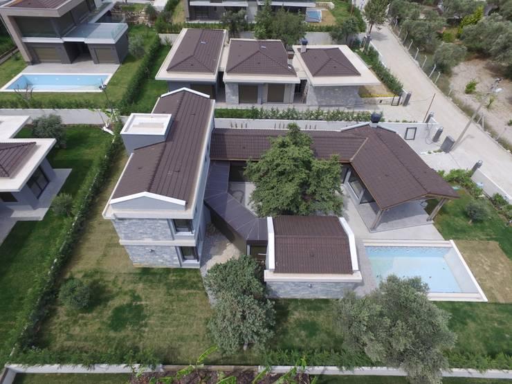Casas modernas de Egeli Proje Moderno Piedra
