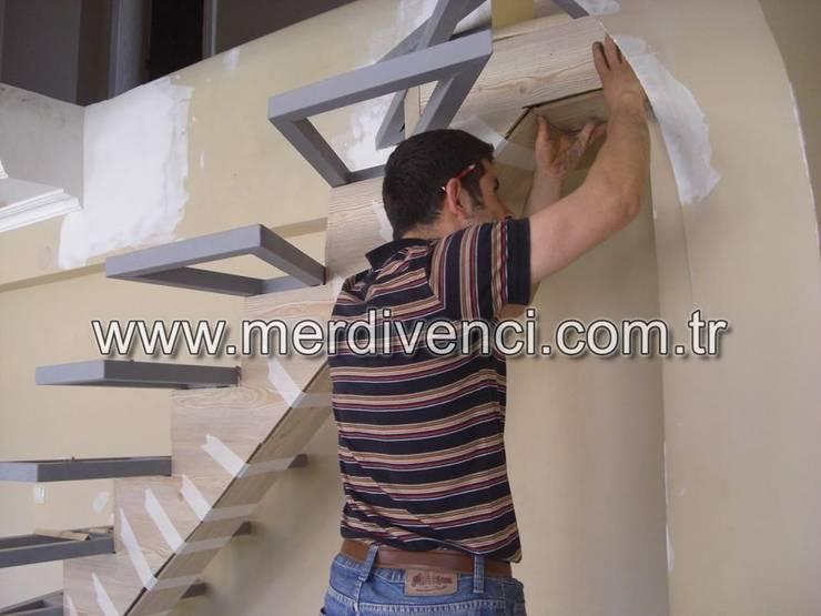 Corridor, hallway & stairs  by Merdivenci