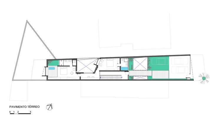 Nhà gia đình by ODVO Arquitetura e Urbanismo