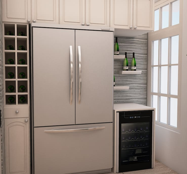 Kitchen units by Spacio5, Modern Wood Wood effect