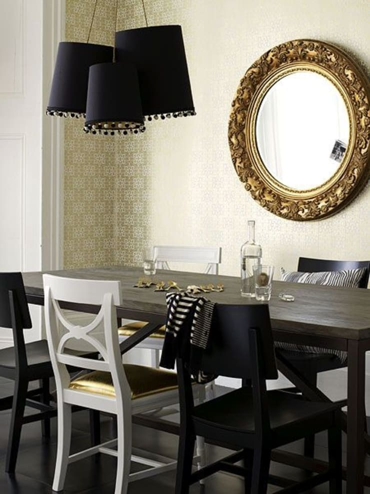 Interior Designers, Decorators and Design Services in Mumbai - Oxedea Interiors:  Dining room by Oxedea Interiors