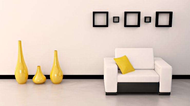 Interior Designers, Decorators and Design Services in Mumbai - Oxedea Interiors:  Living room by Oxedea Interiors