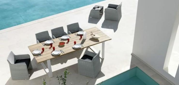 Pool Side Furniture:  Pool by Spacio Collections