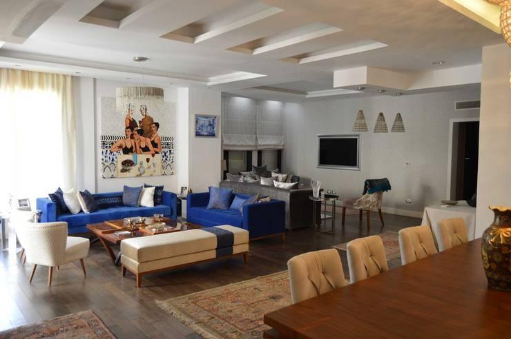 غرفة المعيشة تنفيذ El agizy Architecture and Design