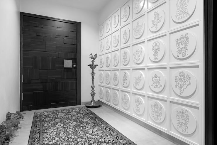 Premium home designs:  Corridor & hallway by Bric Design Group
