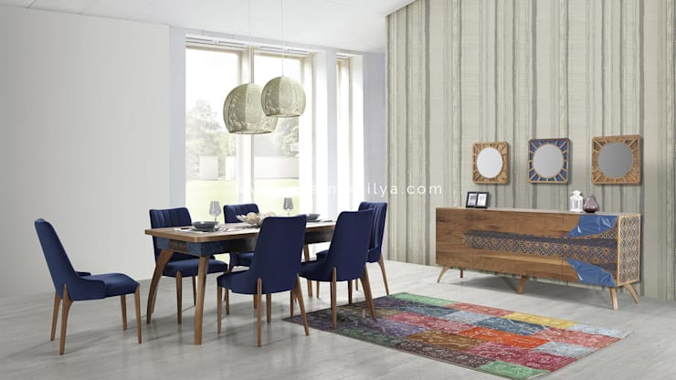 modern Dining room by İnter Mobilya