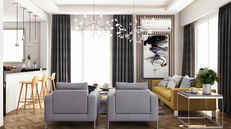 Salon de style  par RDW Architects