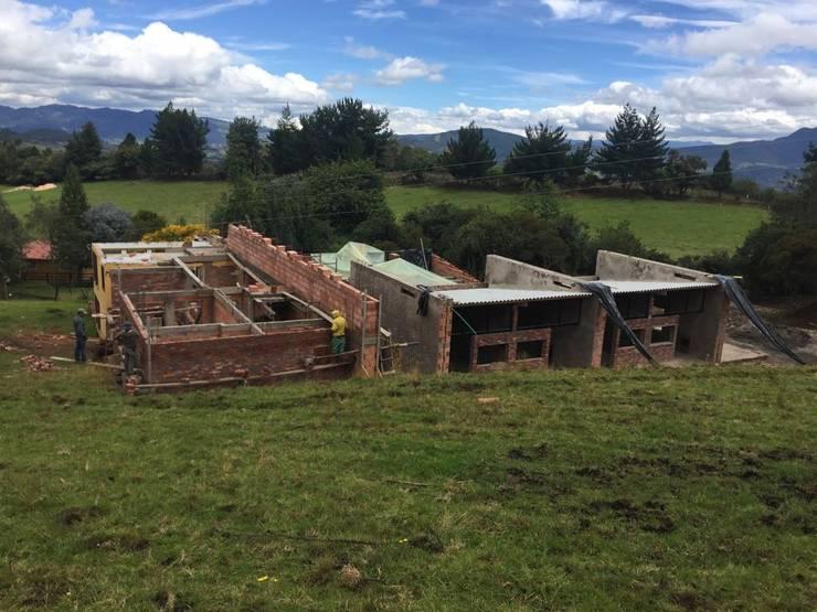 vista general de Bustos + Quintero arquitectos Rural
