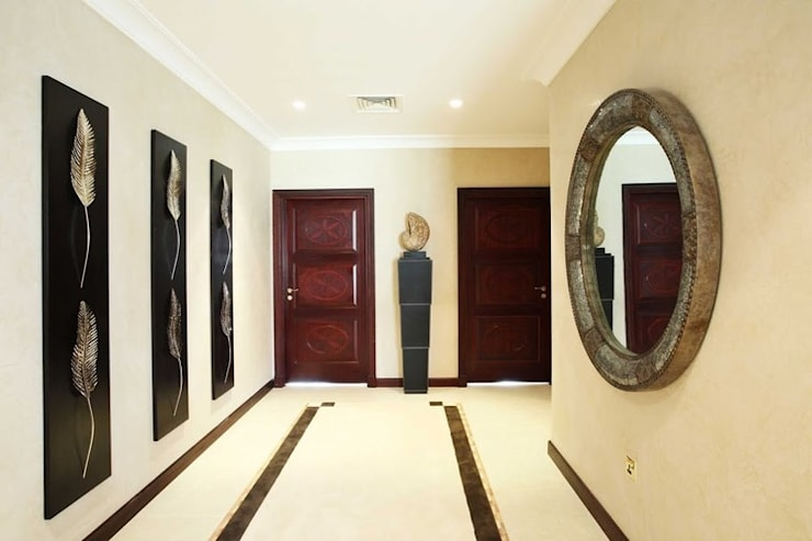 الممر والمدخل تنفيذ Chameleon Interior