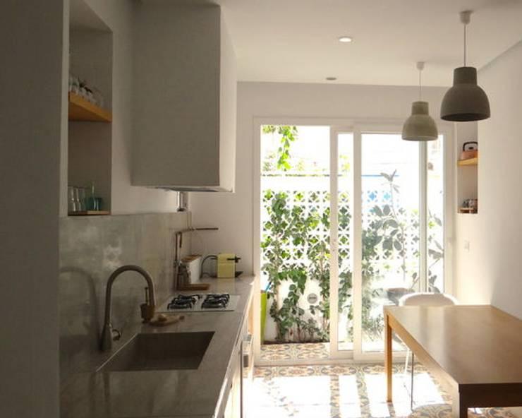 Kitchen by B.A-Studio