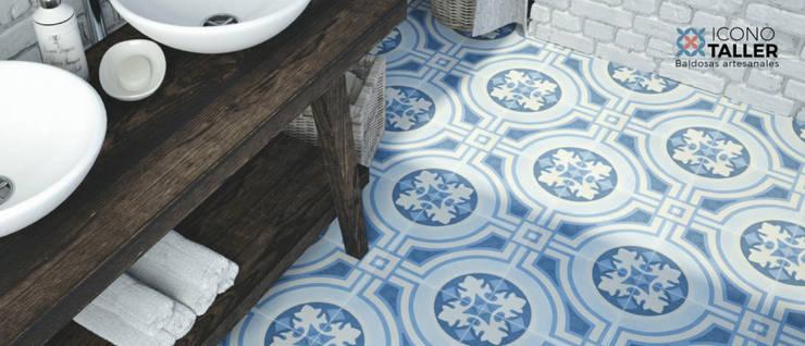 Baño: Baños de estilo  por Icono Taller, Moderno