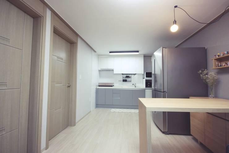 modern Kitchen by homelatte