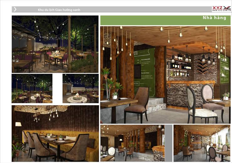 Một số dự án điển hình công ty cổ phần X.Y.Z đã triển khai:  Phòng ăn by Công ty cổ phần X.Y.Z