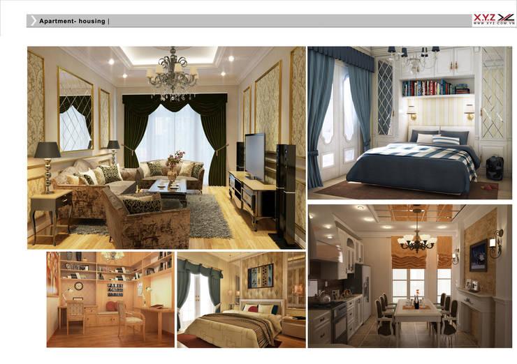 Living room by Công ty cổ phần X.Y.Z