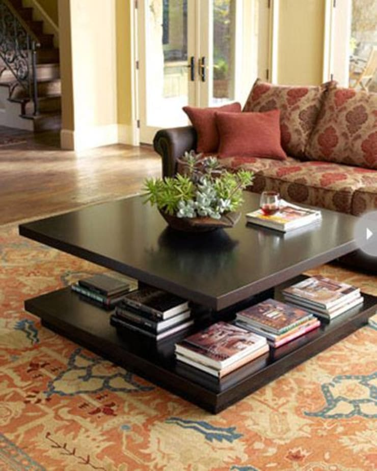 A Simply Designed Coffee Table:  Living room by Spacio Collections