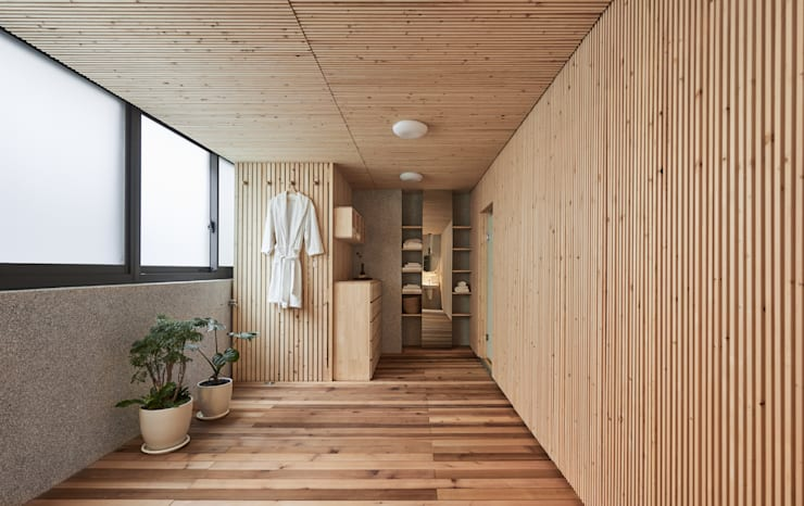 modern  oleh FAMWOOD 自然紅屋, Modern