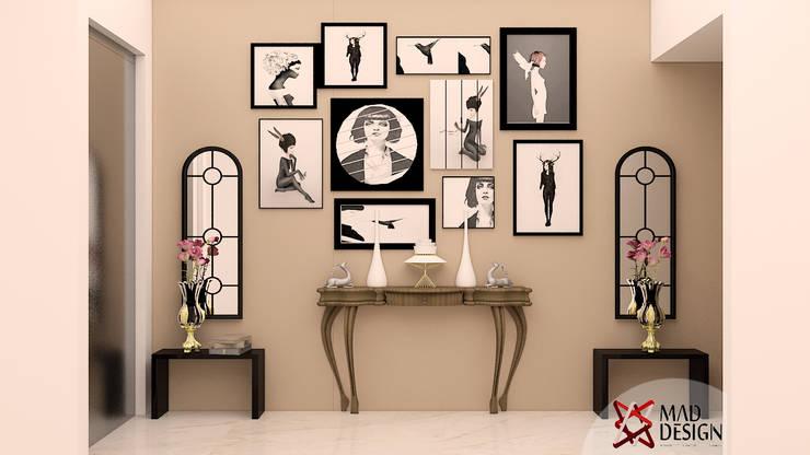 PASSAGE VIEW:  Corridor & hallway by MAD DESIGN