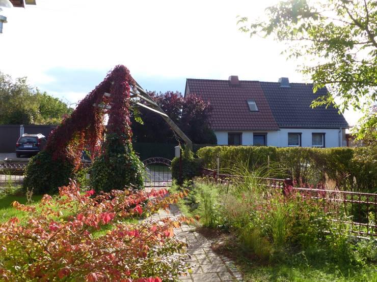 Hausgarten Eberswalde: moderner Garten von Gartenarchitekturbüro Timm