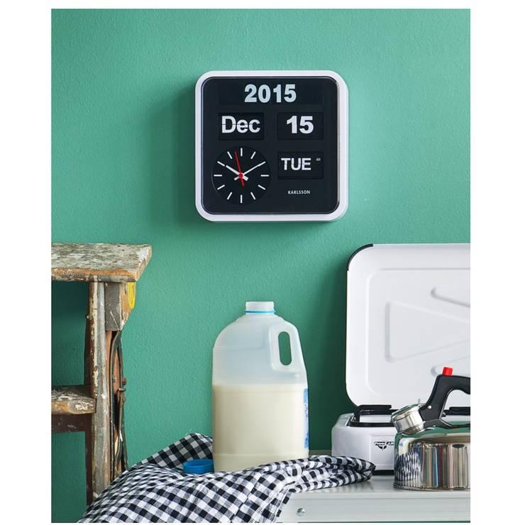 Karlsson Flip Clock Big Wall Clock: modern  by Just For Clocks,Modern Plastic