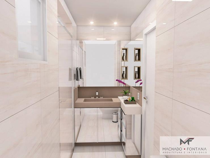 Baños de estilo  por Machado Fontana | Arquitetura e Interiores