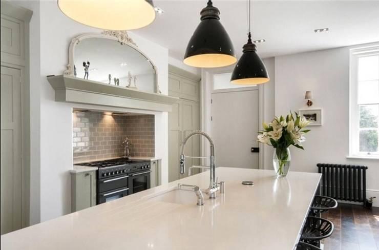 Projekty,  Kuchnia zaprojektowane przez Chandler Stoneworks