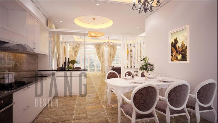 Phòng bếp:  Phòng ăn by DCOR
