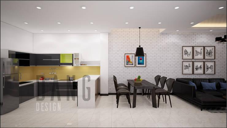 Phòng khách:  Phòng ăn by DCOR