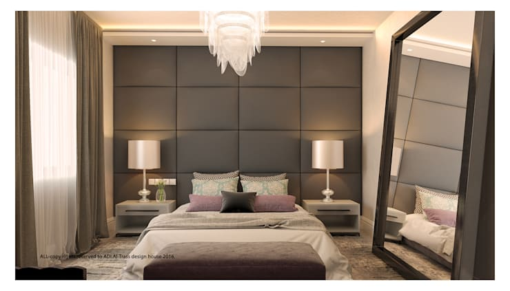 master bedroom:  Bedroom by AL-TRASS CREATIONS DESIGN