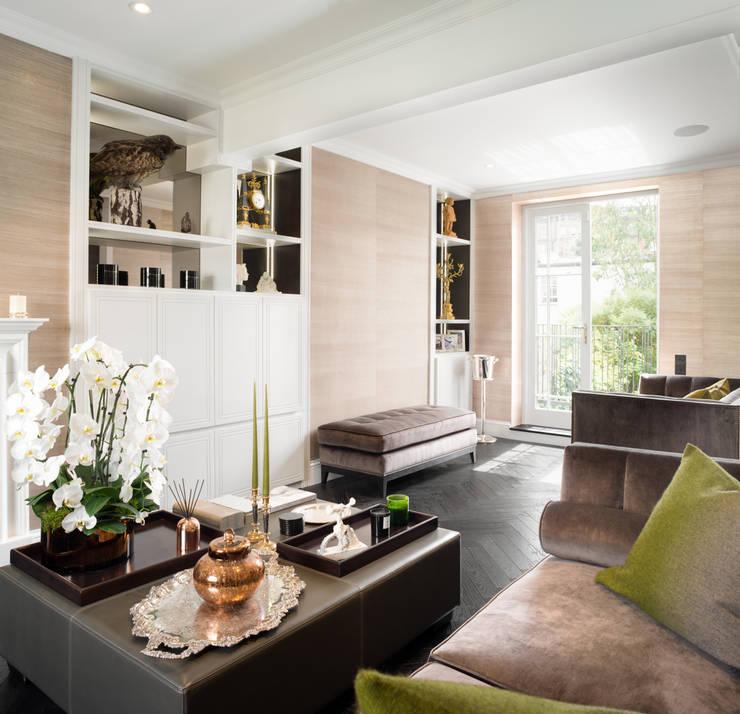 Salon de style  par SWM Interiors & Sourcing Ltd,