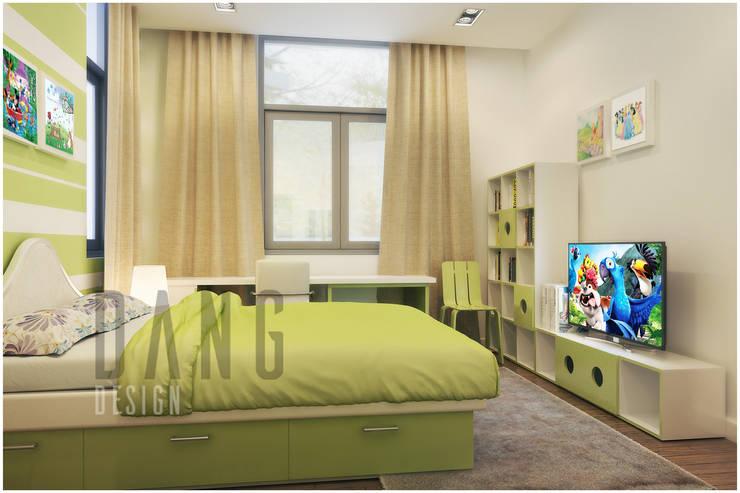 phòng ngủ:  Phòng trẻ em by DCOR