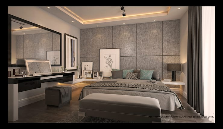 Bedroom by AL-TRASS CREATIONS DESIGN