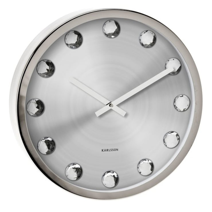 Karlsson Big Diamond Clock: modern Living room by Just For Clocks