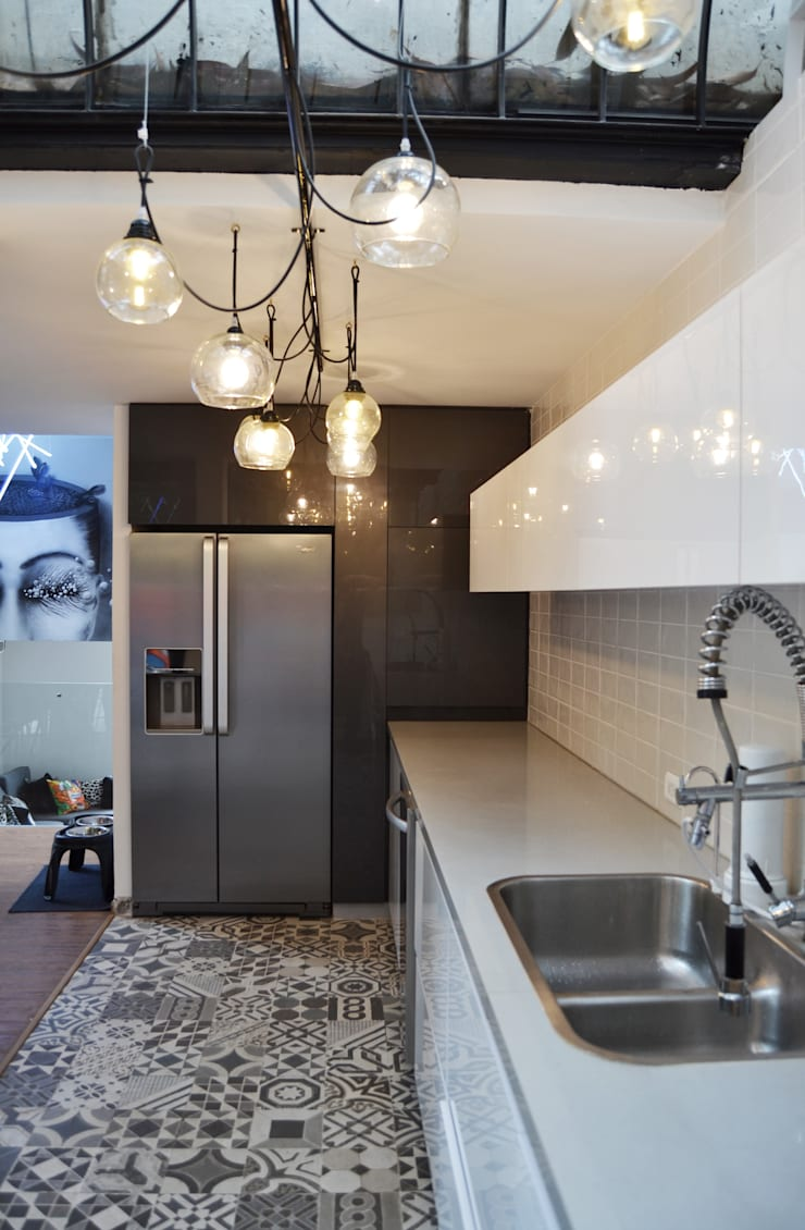 Nhà bếp theo santiago dussan architecture & Interior design, Chiết trung
