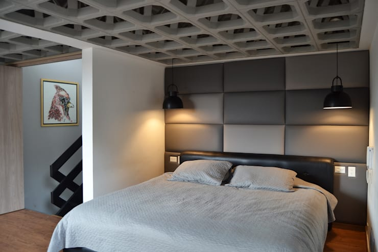 Phòng ngủ theo santiago dussan architecture & Interior design, Chiết trung