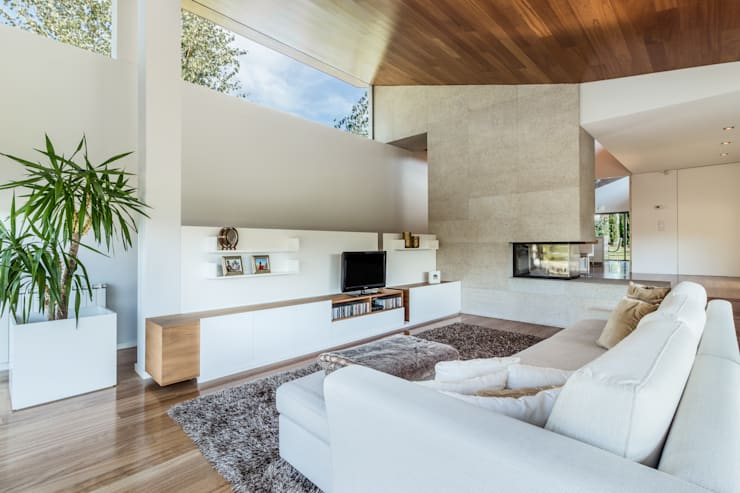 Projekty,  Salon zaprojektowane przez João Boullosa