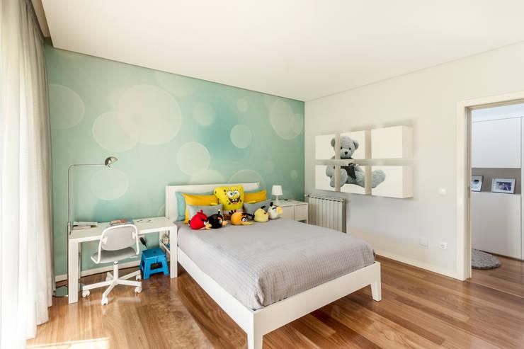 غرفة نوم أولاد تنفيذ João Boullosa