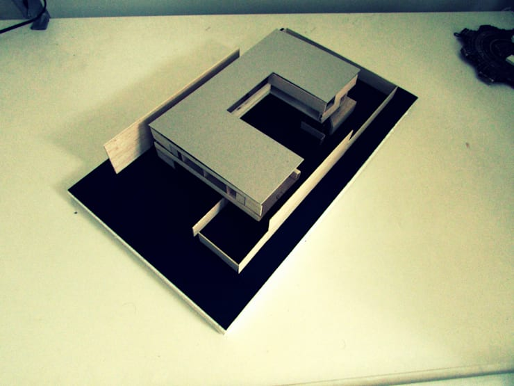 Maqueta Completa:  de estilo  por FP Arquitectura