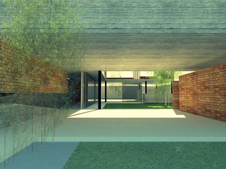Acceso planta baja:  de estilo  por FP Arquitectura