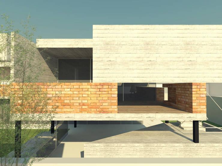 Cara Noroeste:  de estilo  por FP Arquitectura