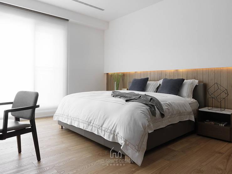 Phòng ngủ by Ho.space design 和薪室內裝修設計有限公司