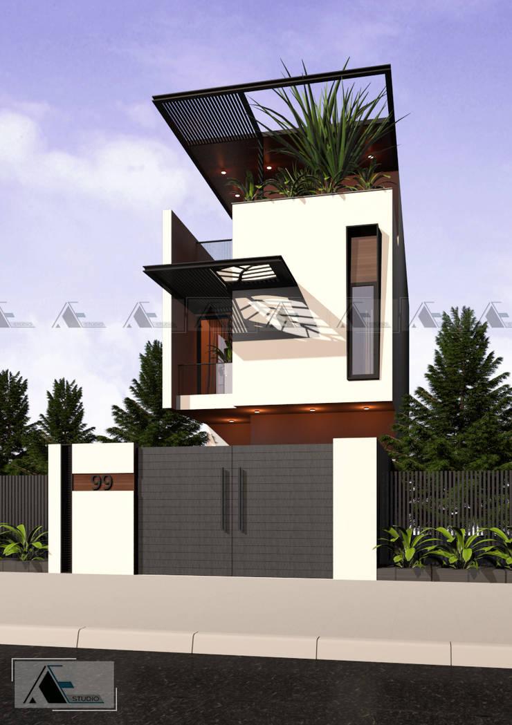 K House:   by AE STUDIO DESIGN