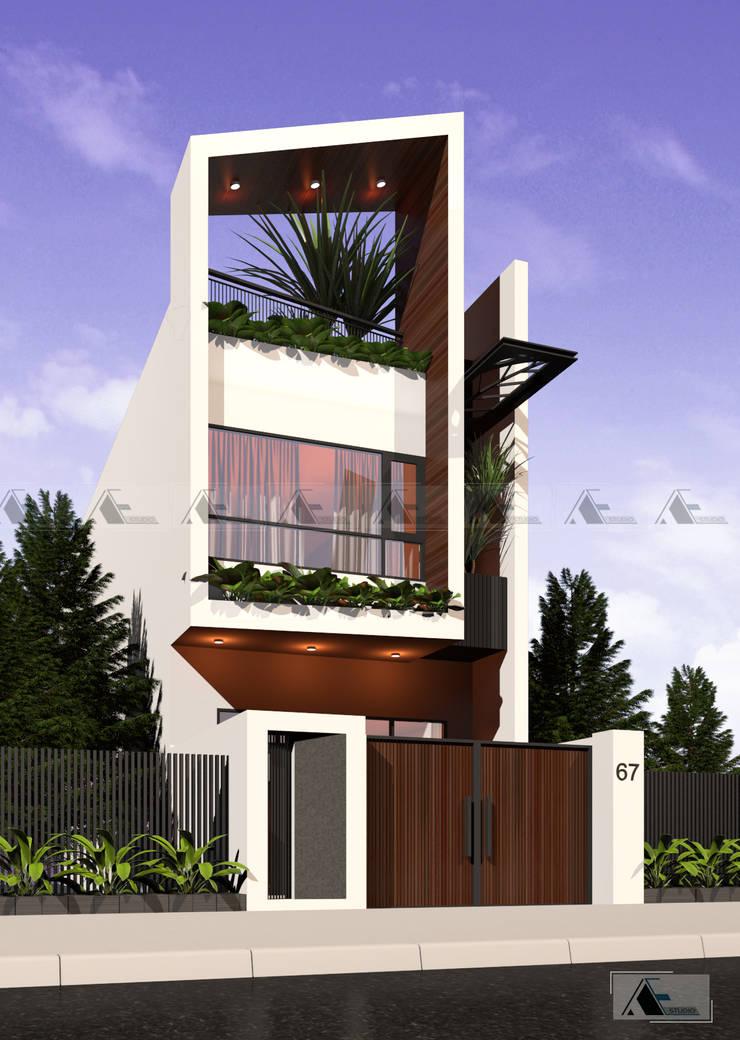 H House:   by AE STUDIO DESIGN