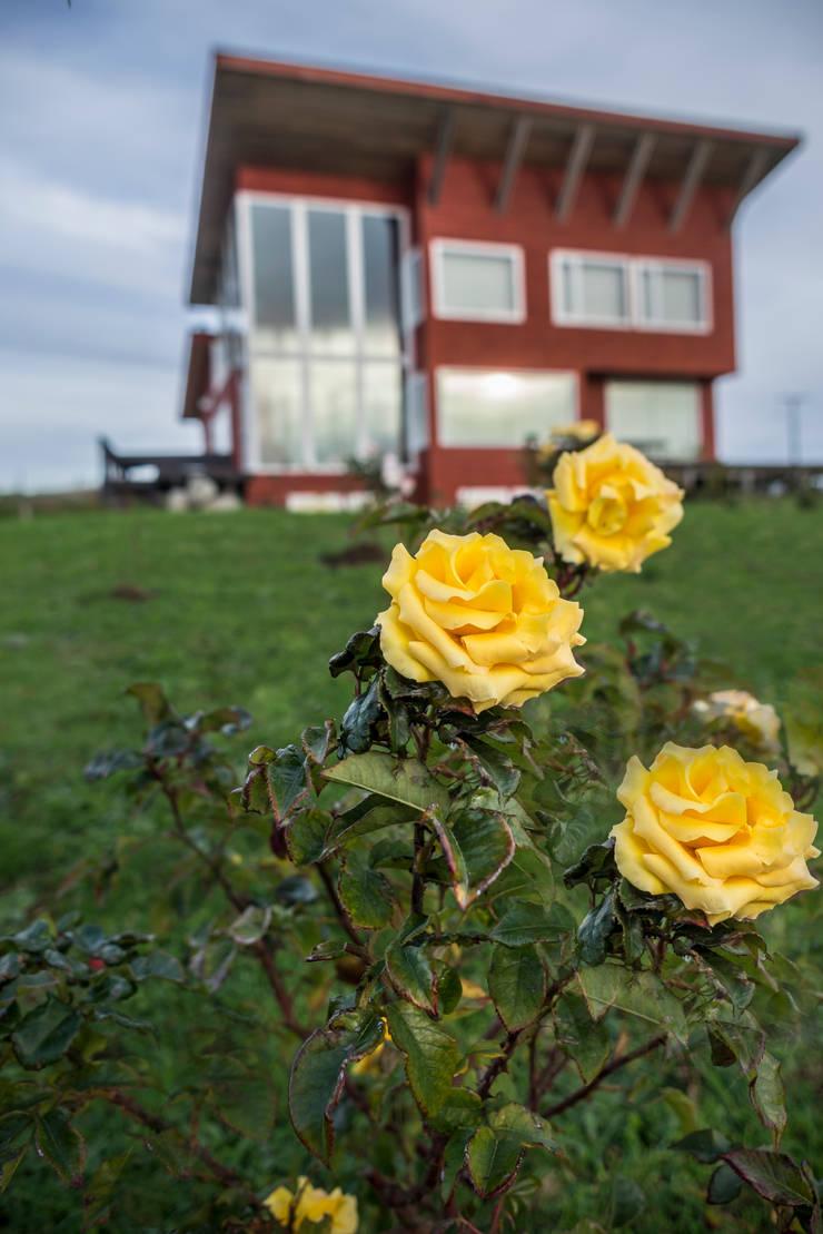 Casa Mirador: Casas de estilo  por Almazan Arquitectura y Construcción