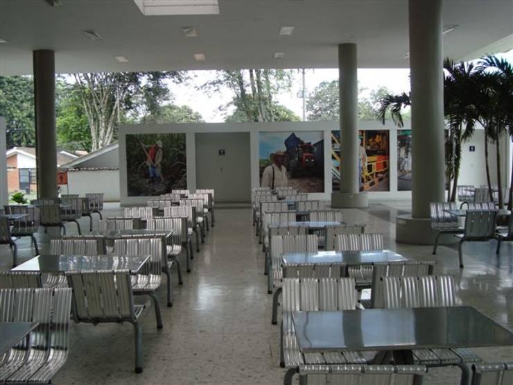 Cafeteria Incauca: Comedores de estilo  por Metalmuebles