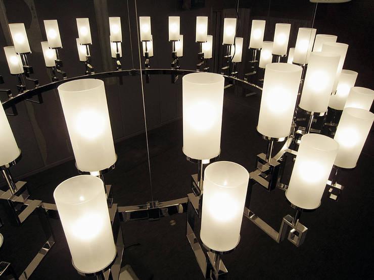 Pendant Lighting:  書房/辦公室 by ABOON custom lightings