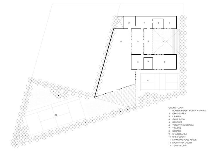 Ground Floor Plan:   by mold design studio