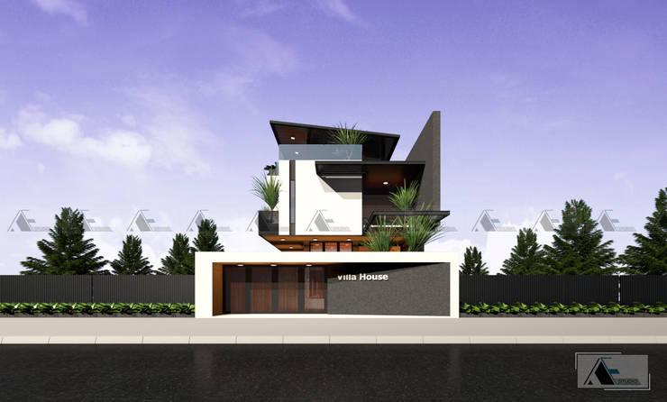 VIEW 1:  Biệt thự by AE STUDIO DESIGN
