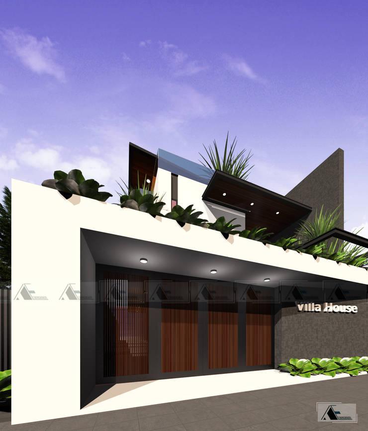 VIEW 4:  Biệt thự by AE STUDIO DESIGN