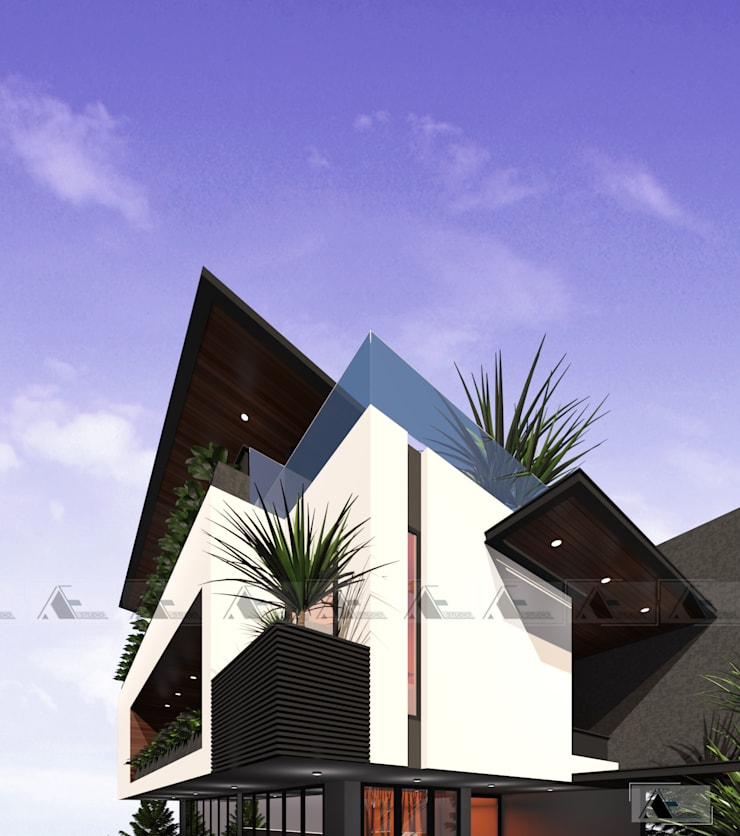 VIEW 5:  Biệt thự by AE STUDIO DESIGN