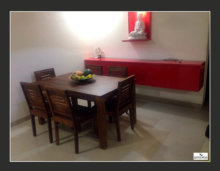 DesignBeing project—Residential, Mumbai:  Dining room by Design Being ,Modern